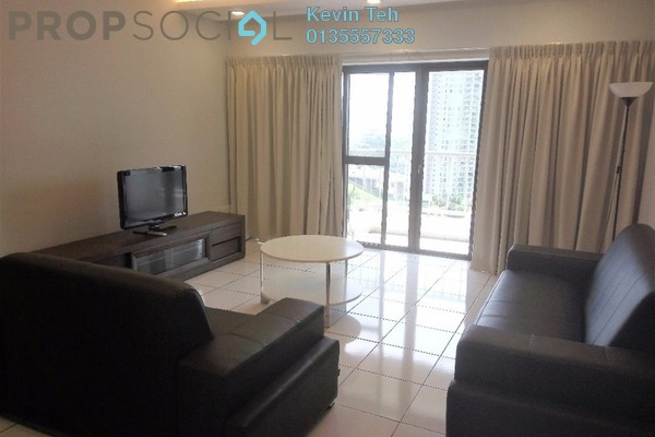 For Rent Condominium at Angkupuri, Mont Kiara Freehold Fully Furnished 3R/2B 3.4k