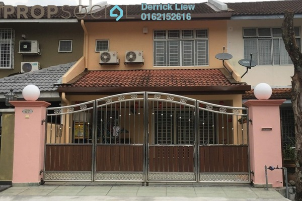 For Rent Terrace at Mahkota Walk, Bandar Mahkota Cheras Freehold Semi Furnished 4R/3B 1.3k