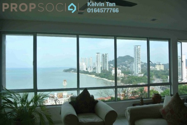For Sale Condominium at The Waterfront, Tanjung Bungah Freehold Semi Furnished 4R/4B 1.5m