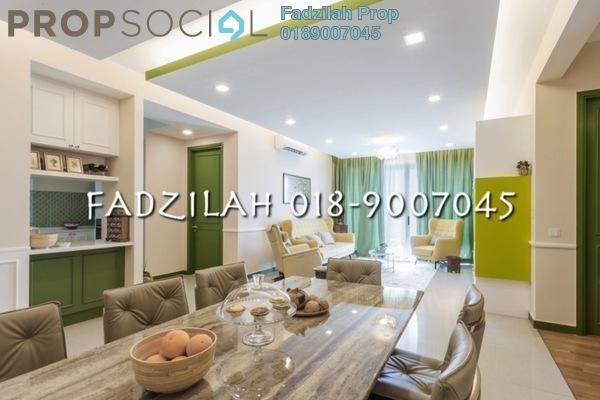 For Rent Condominium at Kiaramas Ayuria, Mont Kiara Freehold Fully Furnished 3R/4B 4.4k