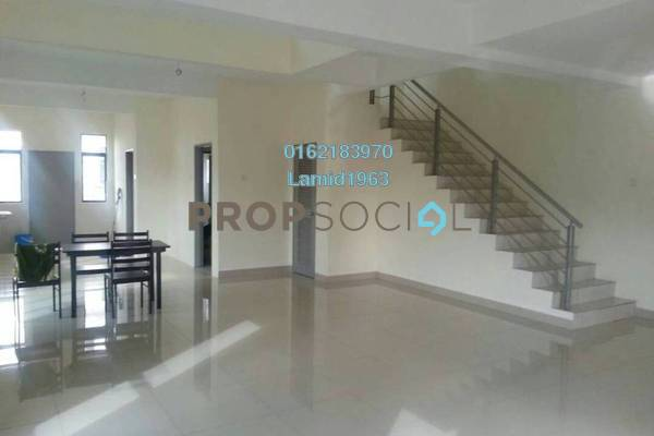 For Sale Semi-Detached at Bukit Saujana, Sungai Buloh Leasehold Semi Furnished 4R/3B 800k