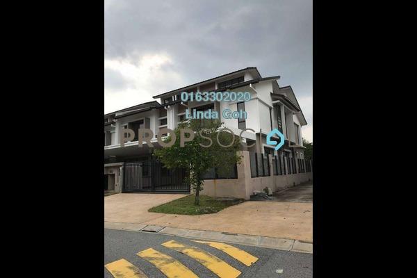 For Sale Terrace at Saffron Hills, Denai Alam Freehold Semi Furnished 4R/3B 950k