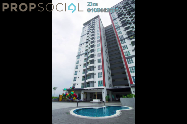 For Sale Serviced Residence at Silk Residence, Bandar Tun Hussein Onn Freehold Fully Furnished 3R/2B 400k