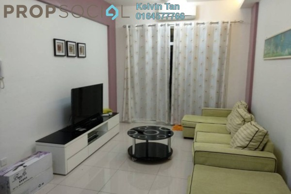 For Rent Condominium at The Oasis, Gelugor Freehold Fully Furnished 3R/2B 1.6k