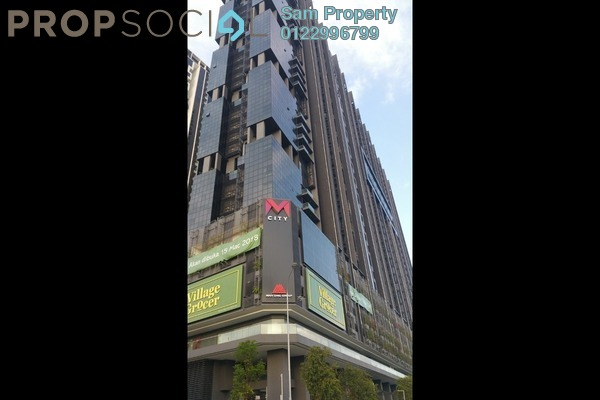 For Sale Condominium at M City, Ampang Hilir Freehold Unfurnished 1R/1B 446k