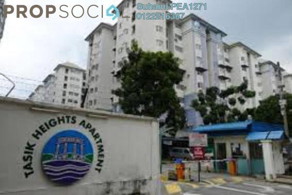 For Sale Apartment at Tasik Heights Apartment, Bandar Tasik Selatan Leasehold Semi Furnished 3R/2B 275k