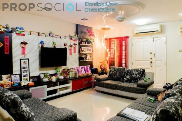 For Sale Terrace at Section 3, Bandar Mahkota Cheras Freehold Unfurnished 4R/3B 688k