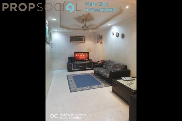 For Sale Terrace at Taman Saujana Putra, Johor Freehold Semi Furnished 4R/2B 650k