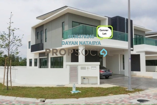 For Sale Semi-Detached at Corallia @ D'Island, Puchong Freehold Semi Furnished 6R/6B 2m