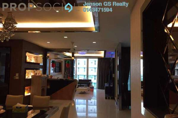 For Sale Condominium at Tuan Residency, Jalan Ipoh Freehold Unfurnished 3R/2B 606k