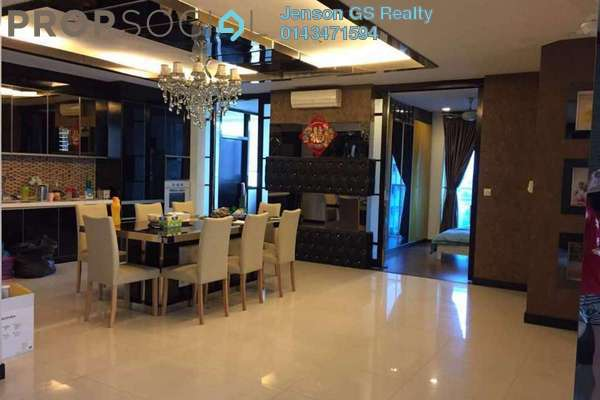For Sale Condominium at Tuan Residency, Jalan Ipoh Freehold Unfurnished 3R/2B 470k