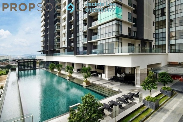 For Sale Serviced Residence at The Elements, Ampang Hilir Freehold Semi Furnished 4R/3B 832k