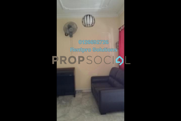 For Rent Terrace at Zone F, Sri Petaling Freehold Semi Furnished 4R/2B 2.2k