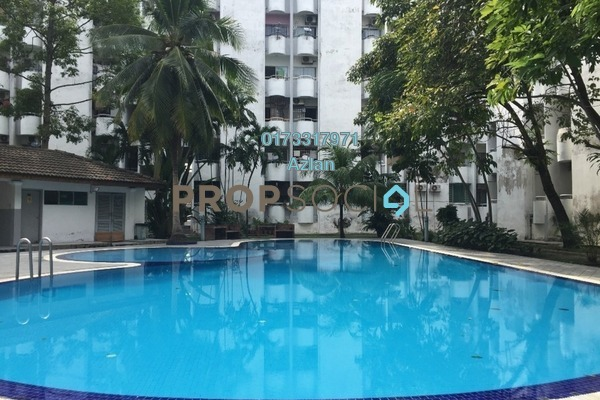 For Sale Condominium at Fawina Court, Ampang Freehold Unfurnished 2R/2B 300k