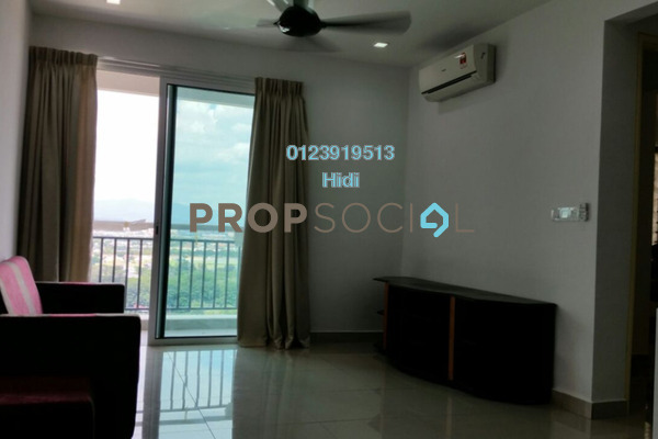 For Rent Serviced Residence at De Centrum Residences, Kajang Freehold Fully Furnished 2R/2B 1.8k