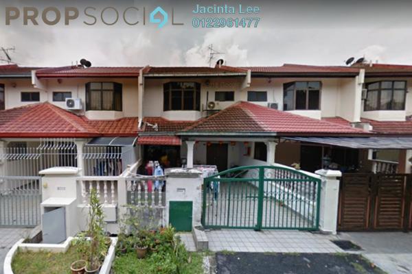 For Sale Terrace at Pandan Perdana, Pandan Indah Freehold Semi Furnished 4R/4B 414k