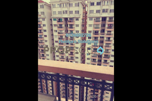 For Rent Condominium at Langat Jaya, Batu 9 Cheras Freehold Unfurnished 3R/2B 1k