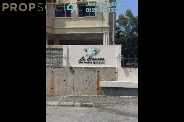 For Sale Apartment at Taman Desa Tambun, Tambun Leasehold Semi Furnished 3R/2B 175k
