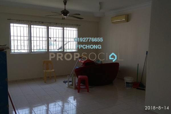 For Sale Apartment at Prima Tiara 2, Segambut Freehold Semi Furnished 3R/2B 375k