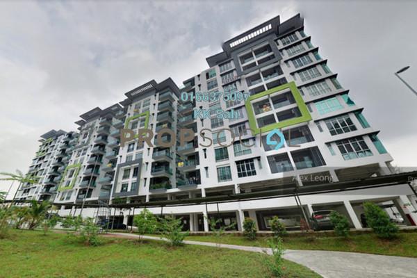 For Rent Condominium at Mahkota Garden Condominium, Bandar Mahkota Cheras Freehold Semi Furnished 4R/3B 1.4k