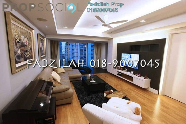 For Rent Condominium at Mont Kiara Aman, Mont Kiara Freehold Fully Furnished 4R/4B 6k