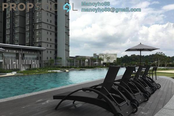 For Sale Condominium at Hyve, Cyberjaya Freehold Fully Furnished 2R/1B 355k