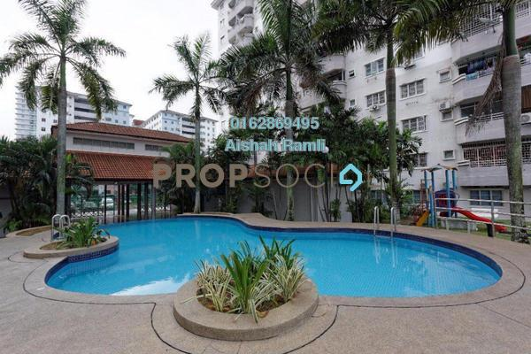 For Sale Apartment at Jati 1 Apartment, Subang Jaya Freehold Semi Furnished 3R/2B 330k