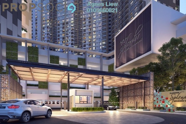 For Sale Condominium at Platinum Splendor Residence, Kuala Lumpur Freehold Semi Furnished 4R/2B 470k