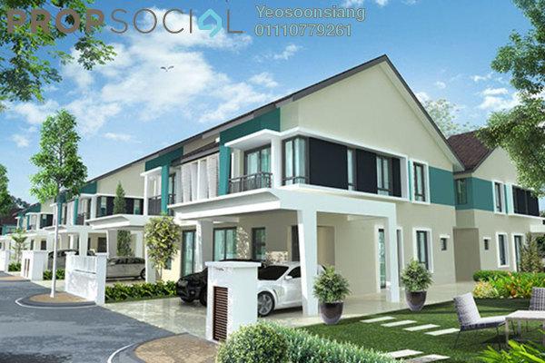 For Sale Terrace at Diamond Residence @ Serdang, Seri Kembangan Freehold Semi Furnished 4R/4B 600k