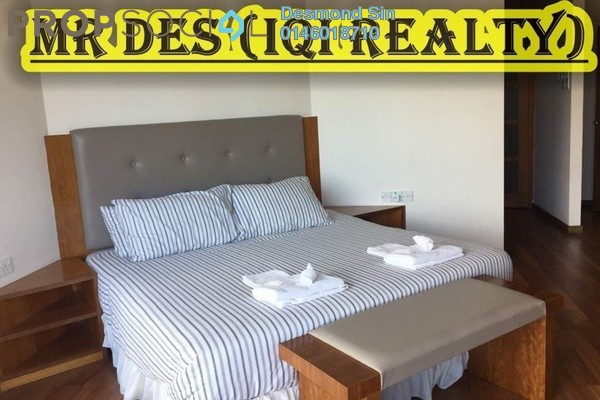 For Rent Condominium at Gurney Beach, Gurney Drive Freehold Fully Furnished 3R/4B 4.5k