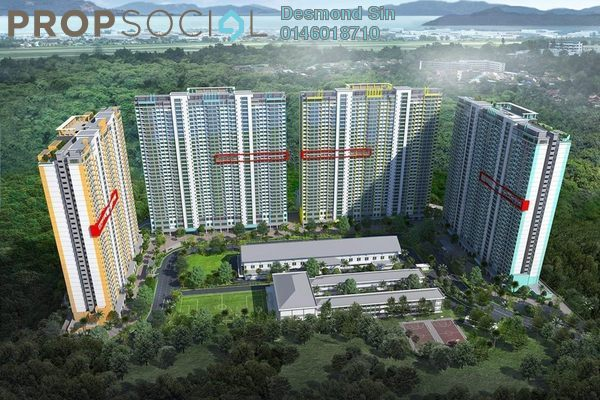 For Sale Condominium at One Foresta, Sungai Ara Freehold Unfurnished 3R/2B 440k