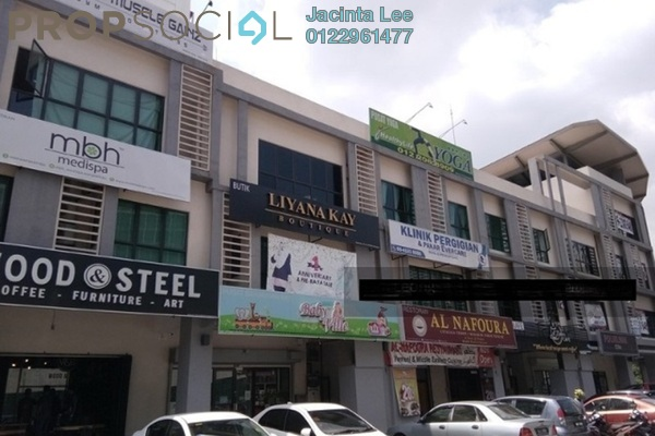 For Sale Shop at Hedgeford 10 Residences, Wangsa Maju Freehold Unfurnished 0R/2B 729k