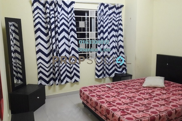 For Rent Condominium at Kepong Central Condominium, Kepong Freehold Fully Furnished 3R/2B 1.3k