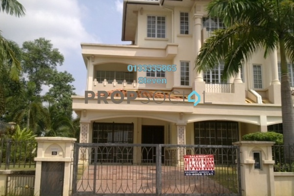For Sale Semi-Detached at D'Kayangan, Shah Alam Leasehold Unfurnished 6R/4B 1.8m