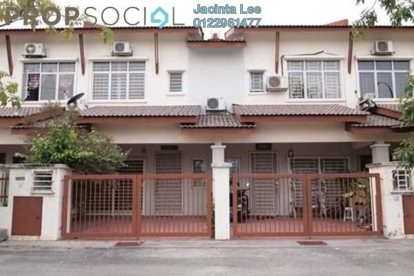 For Sale Terrace at Cascadia Lake Vista, Puchong Freehold Semi Furnished 4R/3B 485k