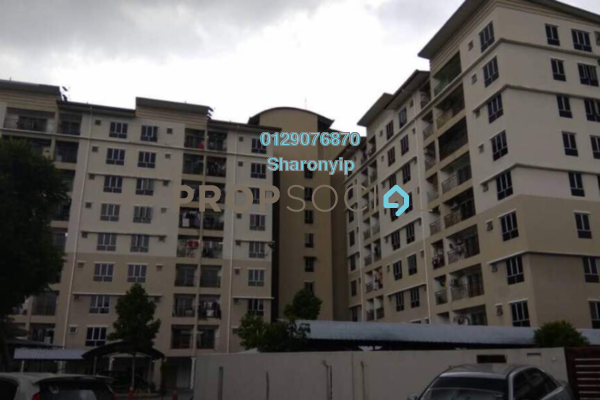 For Sale Apartment at Vista Mahkota Apartment, Bandar Mahkota Cheras Freehold Unfurnished 3R/2B 268k