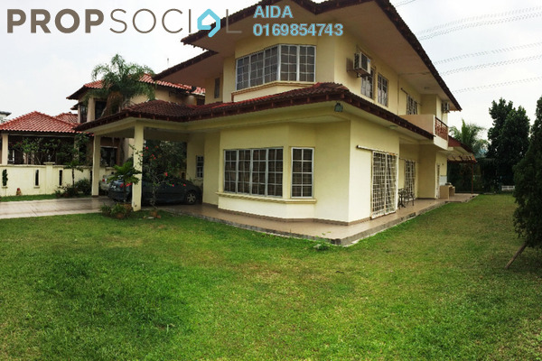 For Sale Bungalow at Section 8, Shah Alam Leasehold Semi Furnished 7R/5B 1.65m