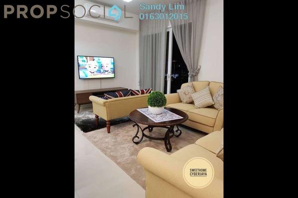 For Rent Condominium at Verdi Eco-dominiums, Cyberjaya Freehold Fully Furnished 3R/2B 3.6k
