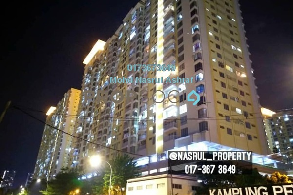 For Sale Condominium at Platinum Lake PV13, Setapak Freehold Fully Furnished 4R/2B 450k