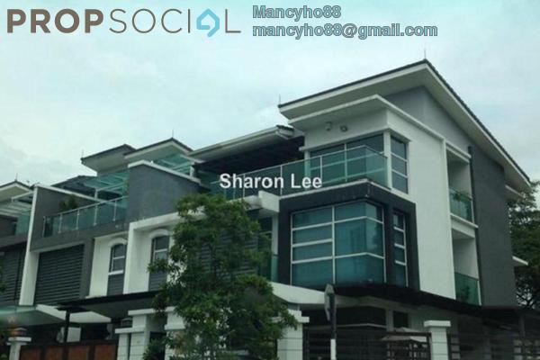 For Sale Semi-Detached at Temasya Anggun, Temasya Glenmarie Freehold Semi Furnished 7R/8B 2.5m
