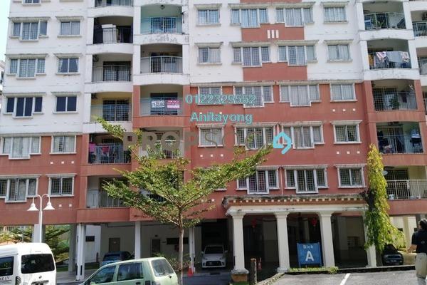 For Sale Apartment at Kenanga Apartment, Pusat Bandar Puchong Freehold Semi Furnished 3R/2B 340k