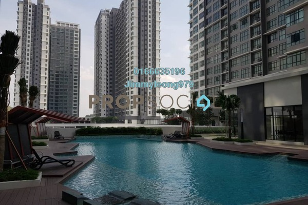 For Rent Serviced Residence at Conezión, IOI Resort City Freehold Semi Furnished 3R/2B 2k