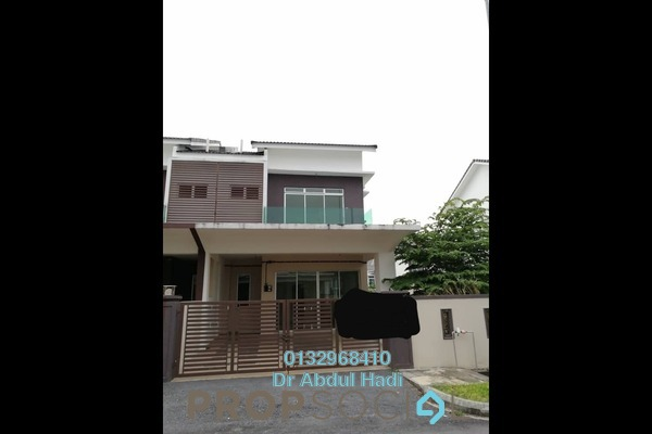 For Sale Terrace at Lavender Heights, Senawang Freehold Unfurnished 4R/3B 450k