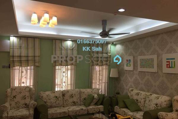 For Sale Link at Section 3, Bandar Mahkota Cheras Freehold Semi Furnished 4R/3B 660k