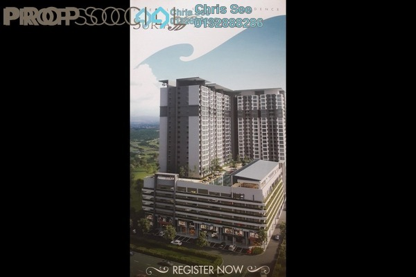 For Sale Condominium at Suria Putra, Bukit Rahman Putra Freehold Unfurnished 2R/2B 528k