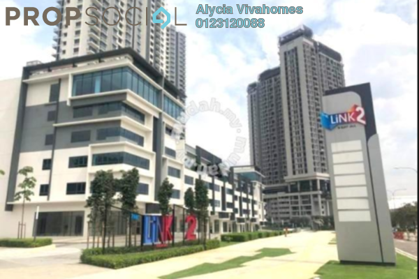 For Rent Condominium at The Link 2 Residences, Bukit Jalil Freehold Semi Furnished 3R/2B 2k