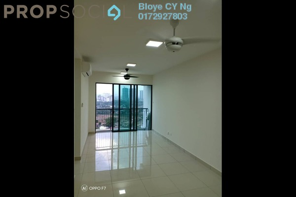 For Rent Condominium at KL Traders Square, Kuala Lumpur Freehold Semi Furnished 3R/2B 1.6k