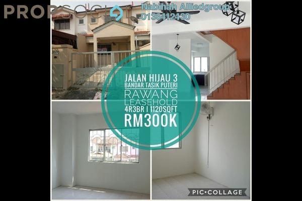 For Sale Terrace at Bandar Tasik Puteri, Rawang Leasehold Unfurnished 4R/3B 300k