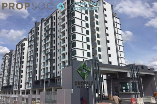 For Rent Condominium at Emerald Residence, Bandar Mahkota Cheras Freehold Unfurnished 3R/2B 1.2k
