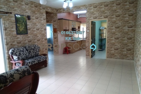 For Rent Apartment at Kasuarina Apartment, Klang Freehold Semi Furnished 3R/2B 1k